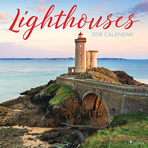 2018 Lighthouses Wall Calendar