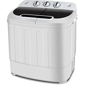 Amazon Com Upgraded Version Pyle Portable Washer Amp Spin
