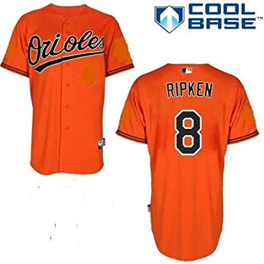 b1d77668c Image Unavailable. Image not available for. Color  Majestic Cal Ripken Jr. Baltimore  Orioles MLB Youth Orange Alternate Replica Jersey ...
