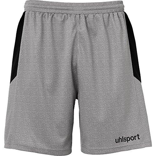 - uhlsport Mens GOAL GOALKEEPER Shorts For Soccer Silver Grey