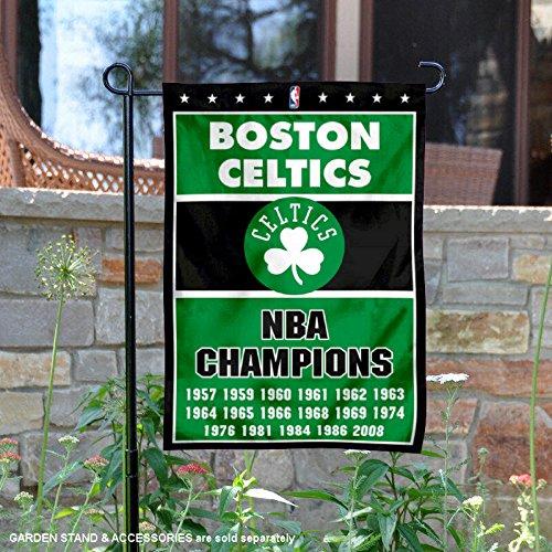 Boston Celtics 17 Time Champions Double Sided Garden (Boston Celtics Garden)