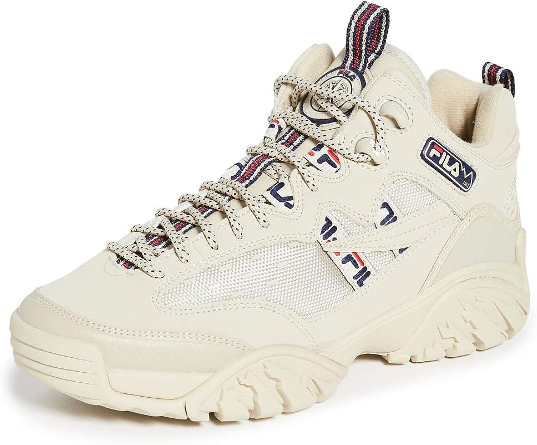 Fila Fixture Cement Zapatillas para hombre, Marfil (Cemento/Fila Navy/Fila Rojo), 42.5 EU: Amazon.es: Zapatos y complementos