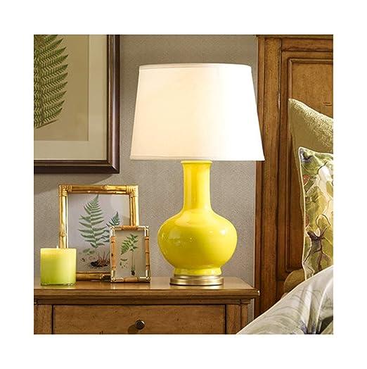 Uexfy Bonita lámpara de Mesa Lámpara de Mesa Salón romántico ...