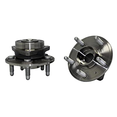 Detroit Axle 513282 Complete Front Wheel Bearing & Hub Assembly for Chevy Camaro 2010 2011 2012 2013 2014 2015 2016 - Cadillac CTS 2010 2011 2012 2013 2014 2015 2016: Automotive