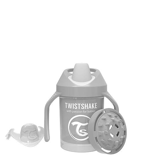Biber/ón Twistshake 78266 color pastel gris