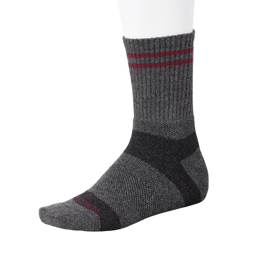 Vital Salveo- Merino Wool Cushion Winter Hiking Socks, Bamboo charcoal, Dark Grey Vital Silver