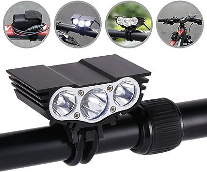GHB Faros Luces delanteros de bicicletas LED Linternas Frontales ...