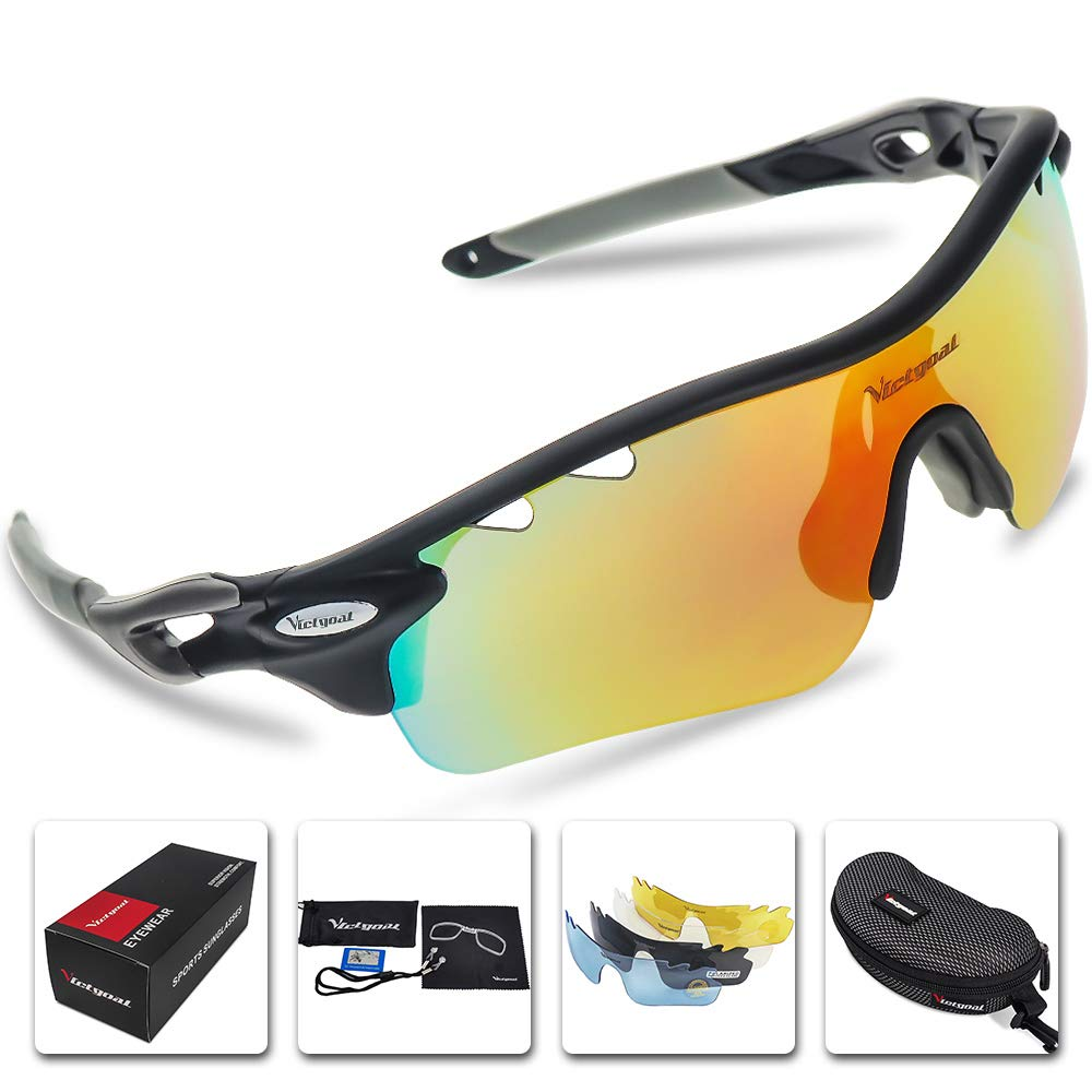 0f580ece09 Victgoal Sports Sunglasses Polarized for Men and Women