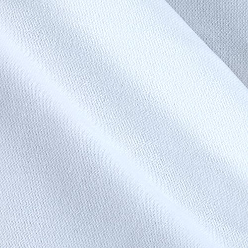 - Ben Textiles 0450661 Double Knit Solid White Fabric by The Yard,
