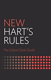 Amazon new harts rules the handbook of style for writers new harts rules the oxford style guide fandeluxe
