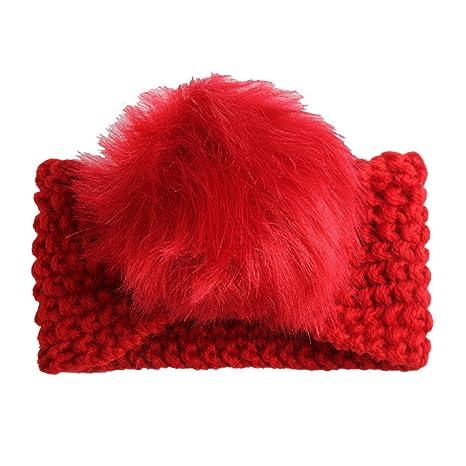 Tukistore Neonata Fascia per capelli Inverno caldo lavorato a maglia Fascia  per capelli Fascia per capelli ad850bd90070
