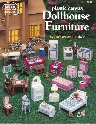 (Dollhouse Furniture - Plastic Canvas Craft Book - #3086)