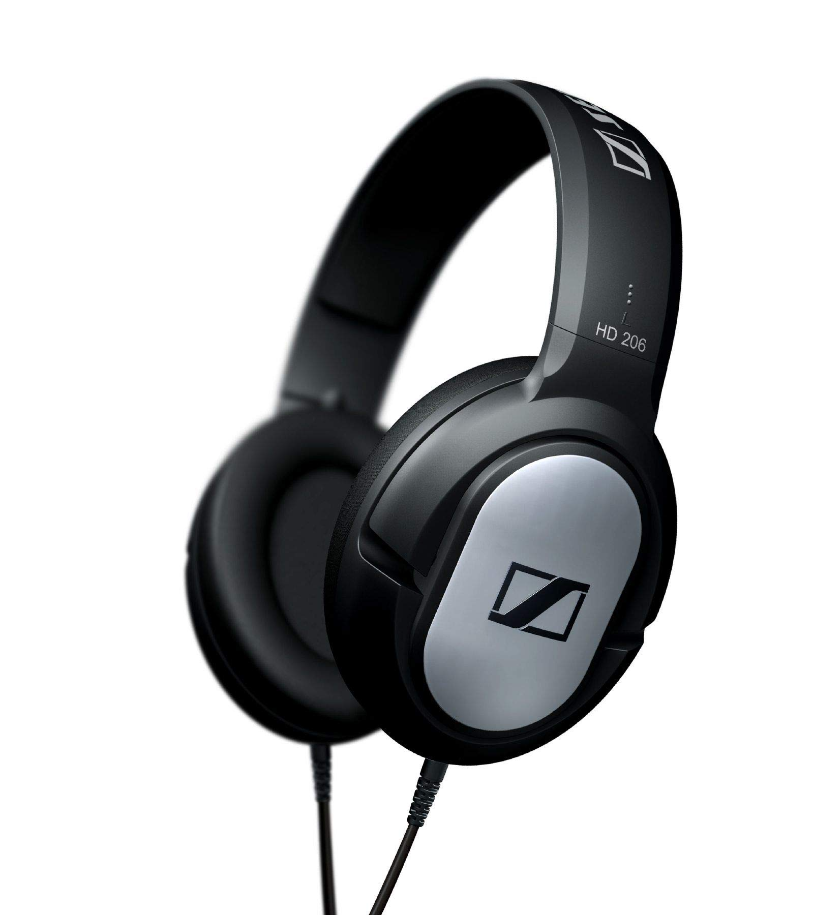 Sennheiser HD 206 - Auriculares estéreo, Color Plata product image