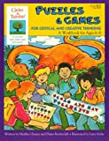 img - for Puzzles & Games for Critical and Creative Thinking: A Workbook for Age 6-8 (The Gifted & Talented Workbooks) book / textbook / text book