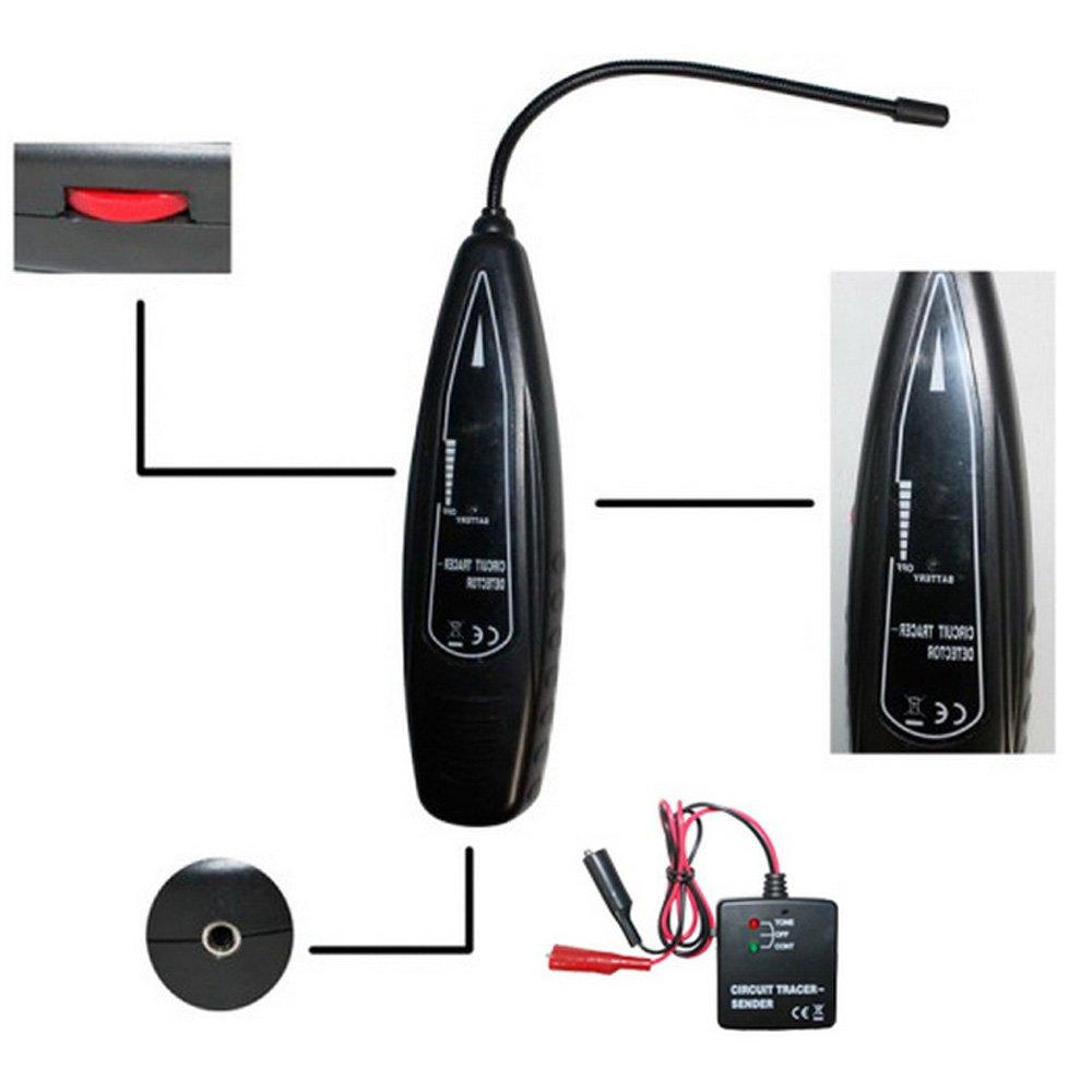 Goforjump Kfz Kurzschluss Detektor Tester Automotive Short Circuit Open Detector Tracersender Auto