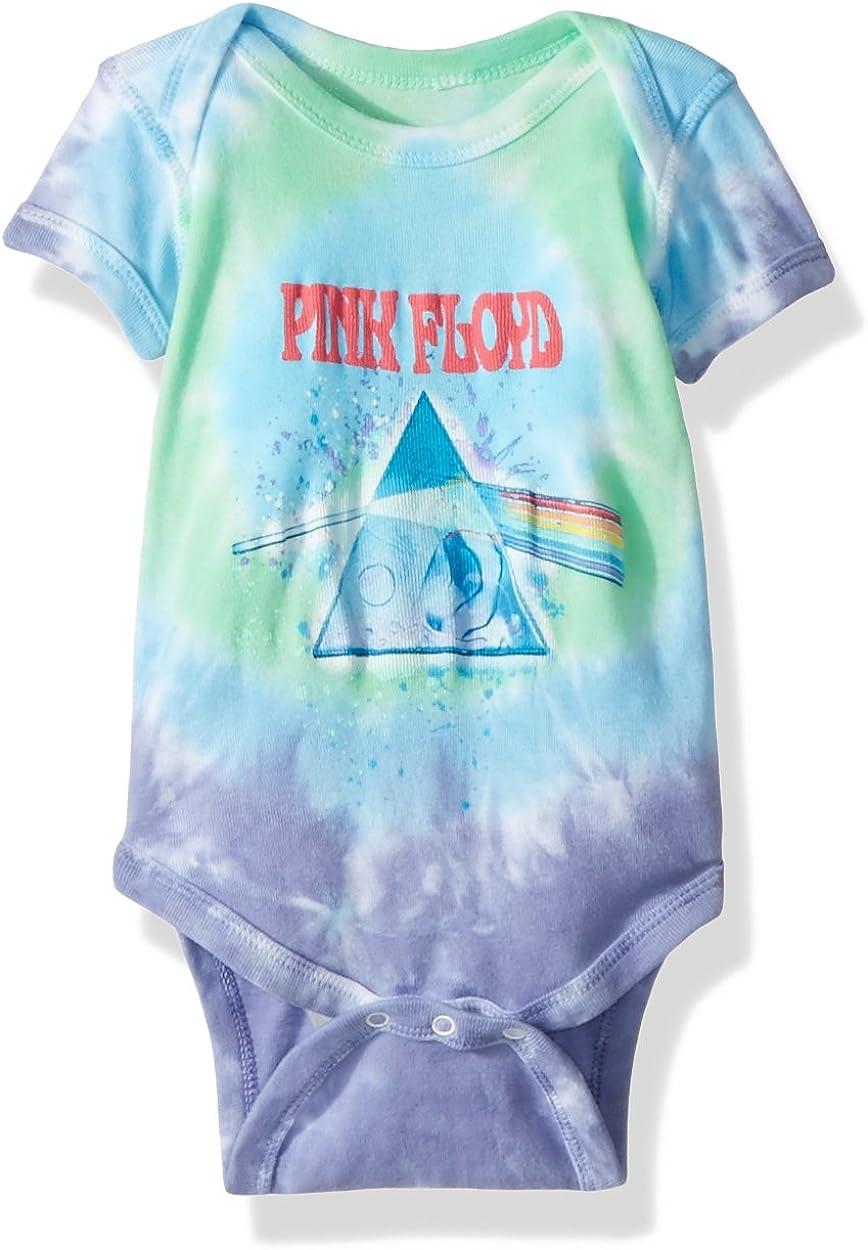 Liquid Blue baby-boys Pink Floyd Dark Side Oil Paint Onesie