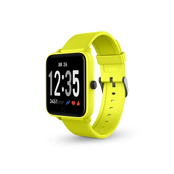 SPC Smartee Feel smartwatch waterproof de color azul con ...