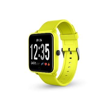 SPC Smartee Feel smartwatch waterproof de color amarillo con ...