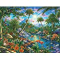 Springbok Children S Jigsaw Puzzles Discovery Island 100 Piece Jigsaw Puzzle Large 18 875 Inches By 13 5 Inches Puzzle Made In Usa Extra Large Easy Grip Pieces