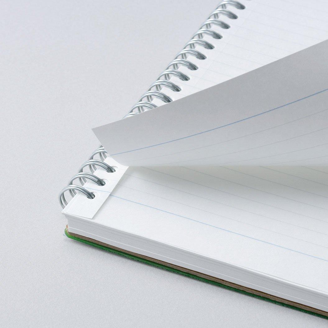 Maruman Lifetime Notebook B5 (6.9x9.8'') - 80 sheets - Light Blue by Maruman (Image #2)