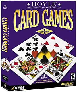 Amazon com: Sierra Hoyle Casino/ Hoyle Card Games (2-pack