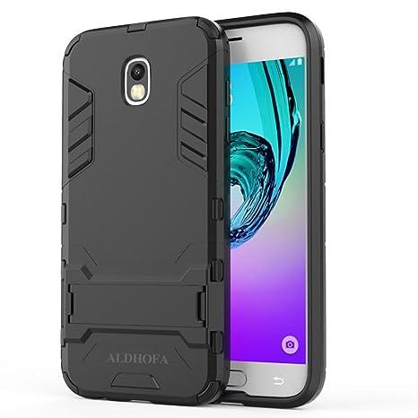 Carcasa para Samsung Galaxy J5 2017, Resistente y Resistente a los Golpes, con Soporte, para Samsung Galaxy J5 2017, Compatible con Samsung Galaxy J5 ...