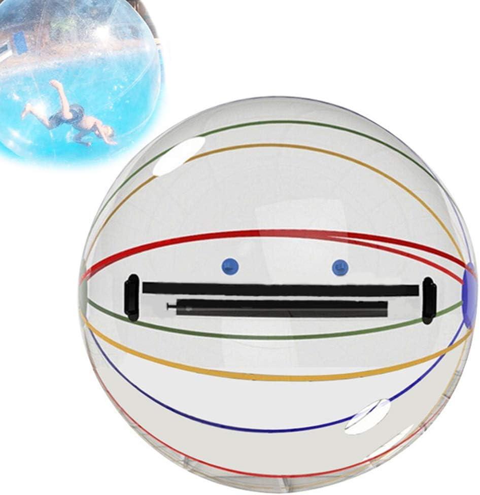 WYLDDP Bubble Ball Bola De Agua De Entretenimiento Divertido De 2M, Bola Zorb Bola De Hámster Humano Bola Inflable De Caminar De Agua Bola Gigante Bola Inflable De Caminar De Agua
