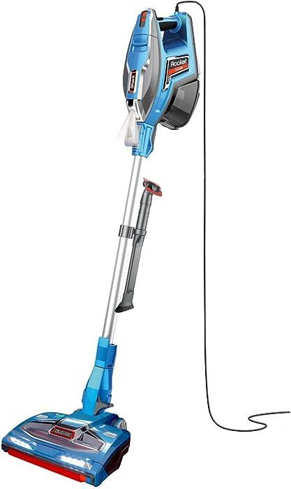 SharkNinja HV381 Stick Vacuum One Size Plasma Blue(Renewed)