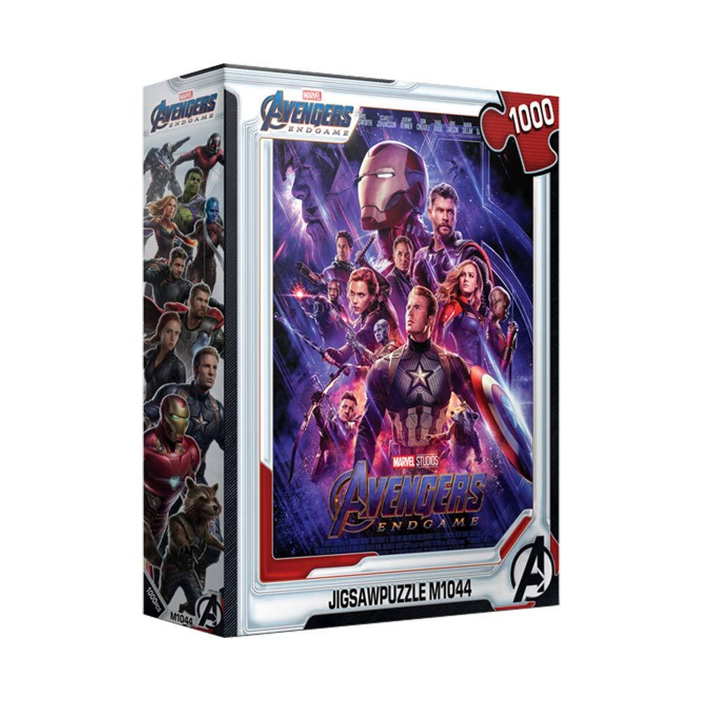 1000Piece Jigsaw Puzzle Marvel Avengers Endgame Poster by Puzzlelife