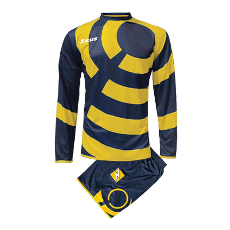 Zeus Kit Rin Completo Completino Calcio Calcetto Maglietta E Pantaloncino Sport