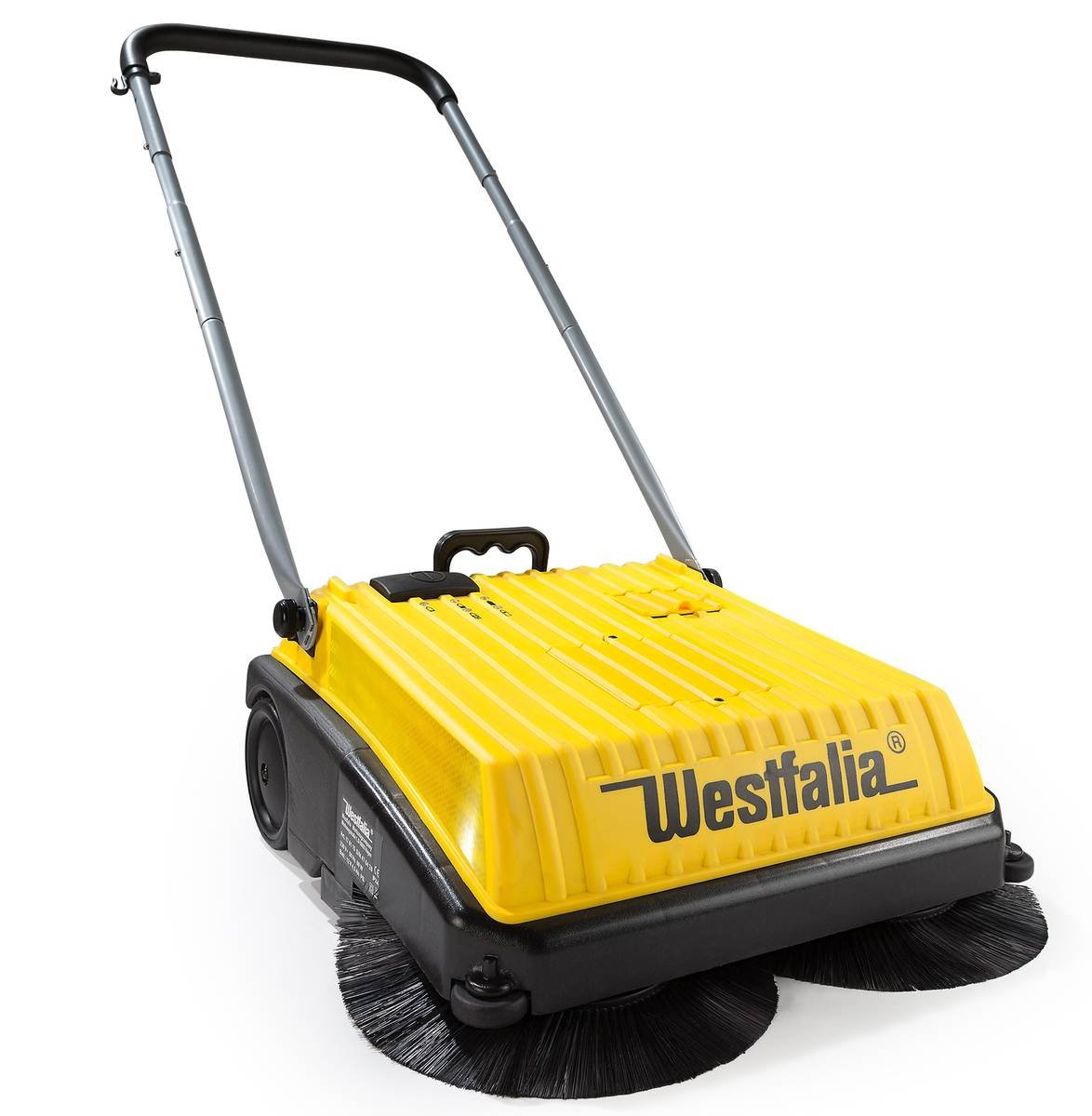 Westfalia Akku Kehrmaschine Hofkehrmaschine 230/12 V - elektrische