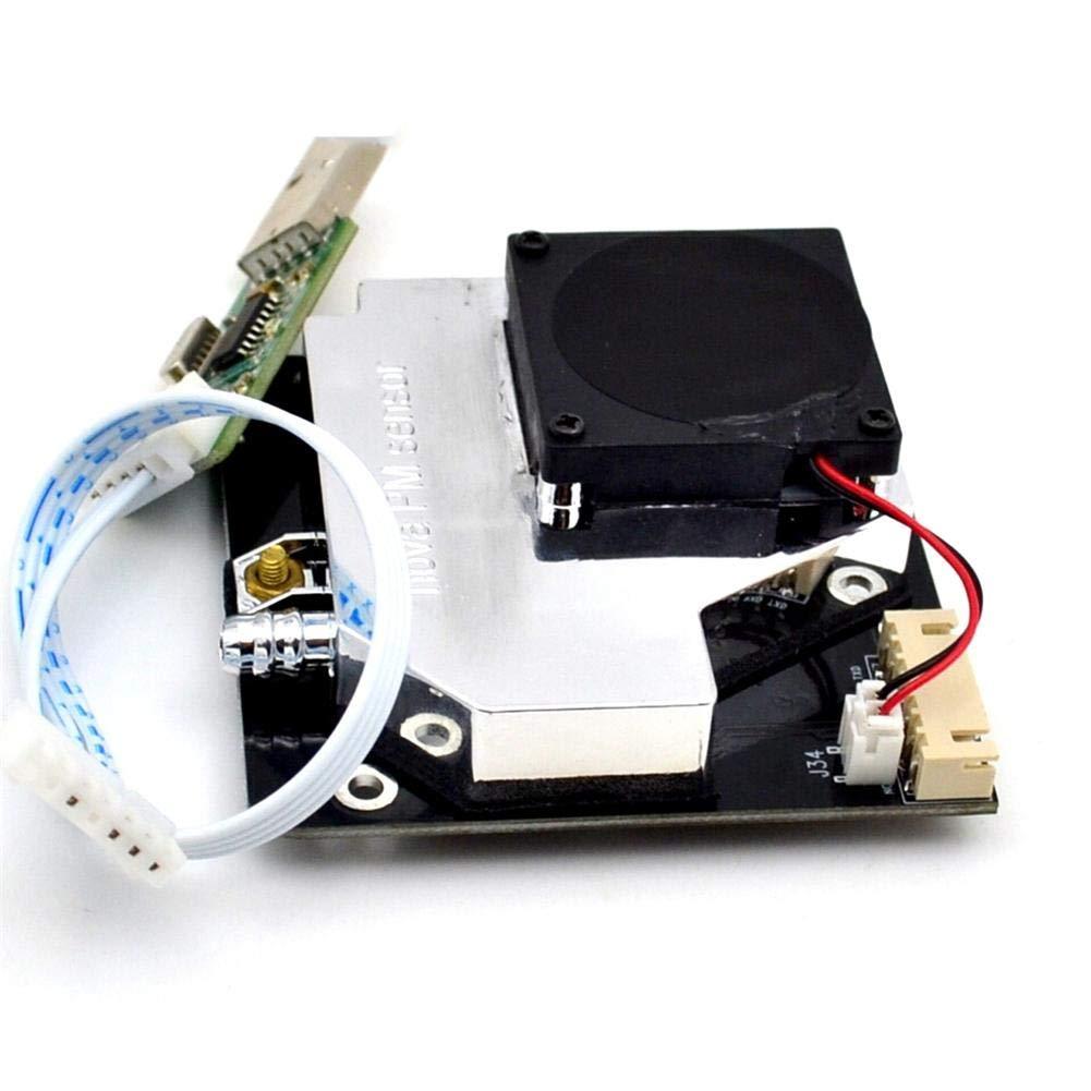 Biback Capteur PM, capteur de poussière SDS011 Haute précision PM 2.5 PM10 capteur de détection de la qualité de l'air