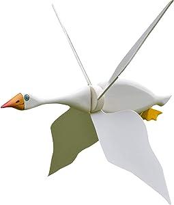 Whirligig Asuka Series Wind Spinner, Seagull Whirly Bird Garden Spinner, Handmade Asuka Windmil for Garden Yard Lawn Patio Decoration