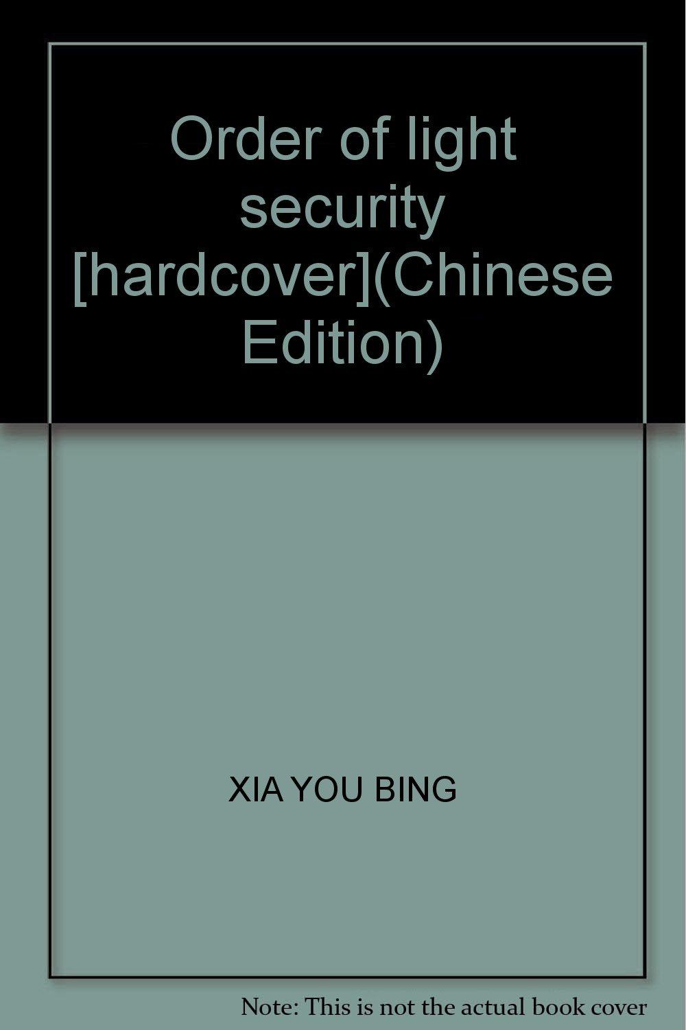 Order of light security [hardcover](Chinese Edition) pdf epub