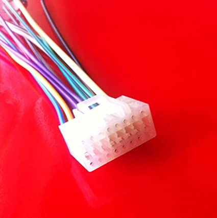 Amazon.com: ALPINE CDM-7874 Player Wiring Harness 16 PIN ... on