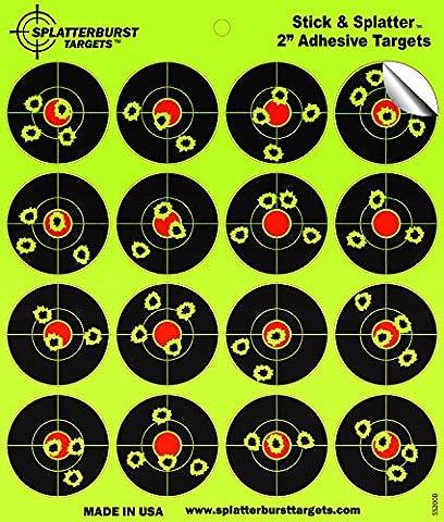 Splatterburst Targets - 2 inch Adhesive
