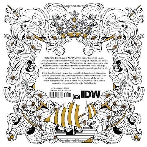 Amazon Com The Princess Bride A Storybook To Color 9781631407734