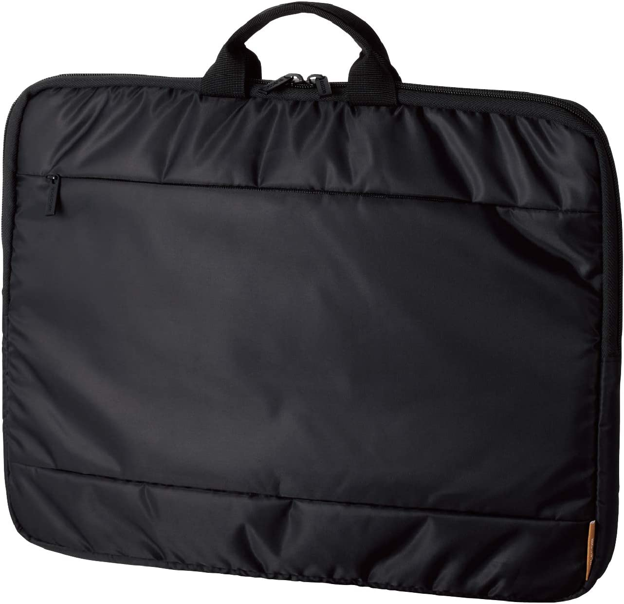 ELECOM-Japan Brand-Laptop /& Notebook PC Sleeve Inner Bag 15.6inches Size with Handle//Mount Front Pocket//Black//BM-IBH15BK