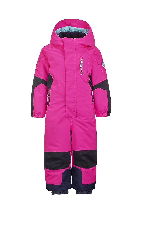 Killtec M/ädchen Rompy Mini Skioverall Schneeanzug mit Kapuze und Schneefang
