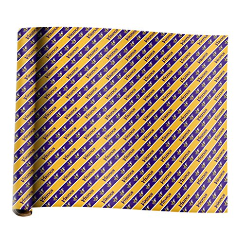 Forever Minnesota Viking Team Wrapping Paper (Wrapping Paper Team)