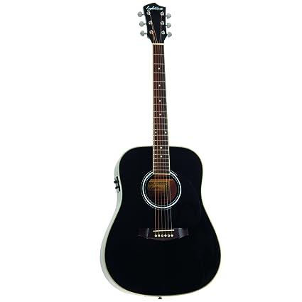 EAGLETONE RIVERSIDE EQ NEGRO Acústica de las guitarras eléctricas de acero acústico-eléctrico