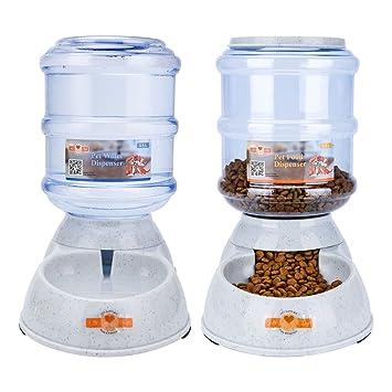 ePeTop Automático Dispensador de Alimentos y Agua 3.5L (Automático Dispensador de Alimentos y Agua): Amazon.es: Productos para mascotas