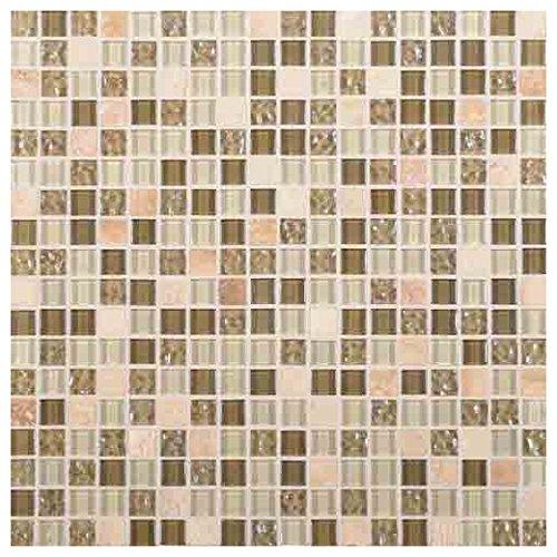 Daltile Glass - Marvel Stone and Glass Mosaic Tile Tile Radiance MV30