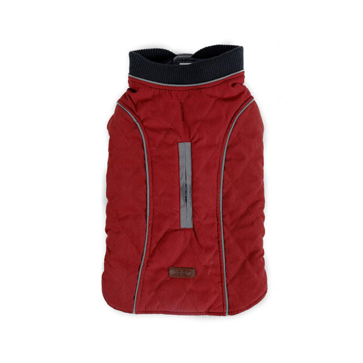 Red M Red M Huijunwenti Winter Dog Clothes, Pet Warm Jacket, Vest New, Big Dog Retro Thick Vest, Clothing Red XXXL Fashion (color   Red, Size   M)