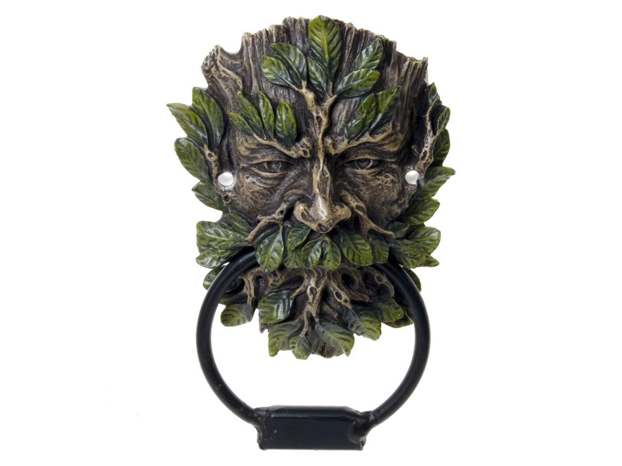 Hunky Dory Gifts Wildwood of The Forest Green Man Puerta Knocker Decoració n De Pared Tree Spirit Wiccan