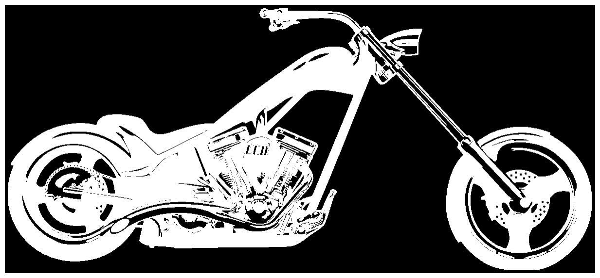 Samunshi® Wandtattoo Chopper Chopper Chopper Wandaufkleber in 10 Größen und 19 Farben (120x54cm schwarz) B006Y7GO44 Wandtattoos & Wandbilder 3aec95