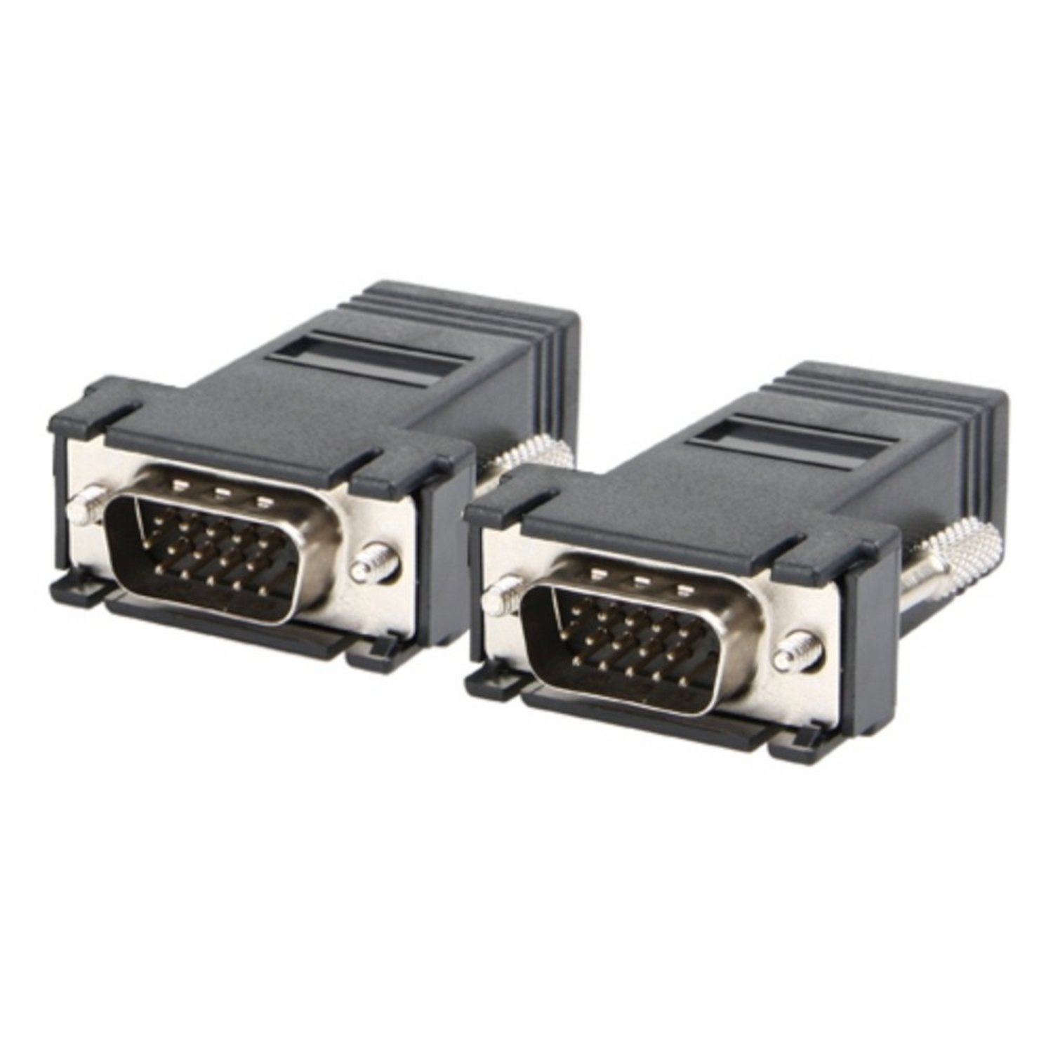 SMAKN Theo&Cleo 2 Black VGA Extender Adapter to Cat5/cat6/rj45 Cable (B00M9X8FAS) Amazon Price History, Amazon Price Tracker