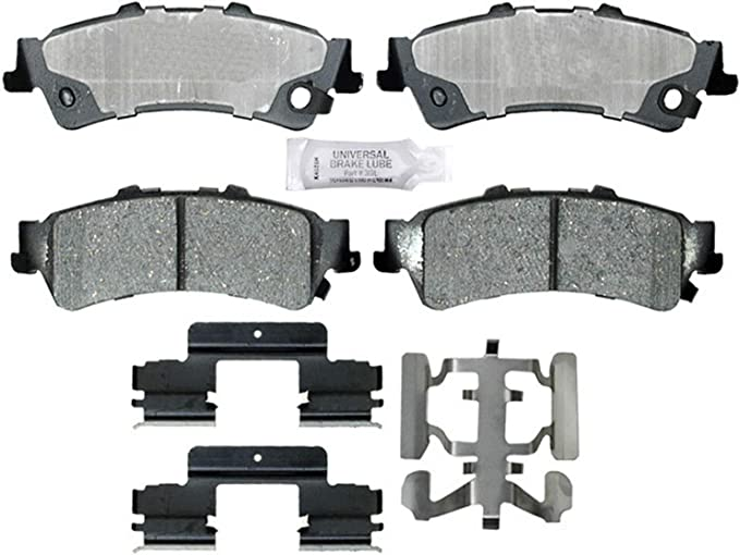 ACDelco 17D792CHF1 Professional Disc Brake Pad Set