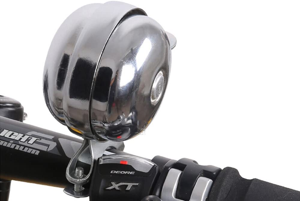 Bicycle Bell Double Sided Metal Retro Handlebar Bike Bell Loud Ring Horn Sound