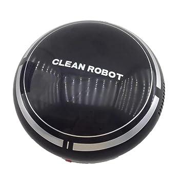 Logobeing Robot Aspirador Recargable Inteligente con USB Automático de Piso Aspiradora de Barrido Aspiradoras (Negro): Amazon.es: Hogar